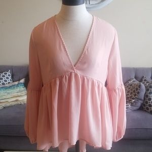 Like New Baby Doll Top